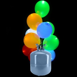 kit bombola 30 palloncini led